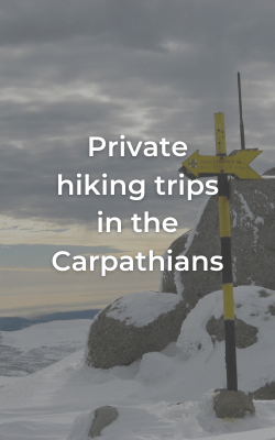 private hiking trips in the Carpathians